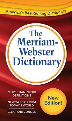 Merriam-Webster Dictionary New Edition (SKU 10621356106)