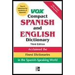 Vox Compact Spanish & English Dictionary