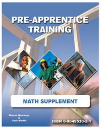 Pre-Apprentice Training Math Supplement (Not Returnable)