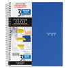 "Mead Five Star 3-Subject Notebook College Ruled-11""X8.50"" 150 White Sheets"