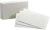 Oxford 3X5 Index Cards 100-Ct White (SKU 10605295115)