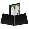 "Samsill .5"" Economy View Ring Binder Black"