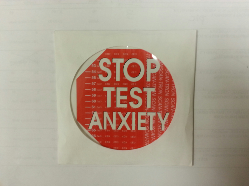 Stop Test Anxiety CD (SKU 10418130110)