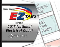 National Electrical Code 2017 Color Coded Ez Tabs (Not Returnable If Opened)