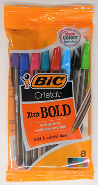 Bic Cristal Assorted Ink Ball Pens