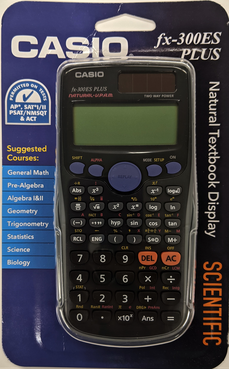 Casio Fx-300Es Plus Scientific Calculator (SKU 10642801103)