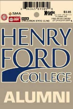 Henry Ford College Alumni Decal (SKU 10616505113)