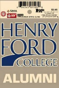 Henry Ford College Alumni Decal