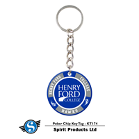 Henry Ford College Key Tag