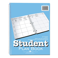 Roaring Spring Undated Student Plan Book Weekly View