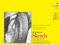 Strathmore Sketch Pad 100 Sheets 18X24