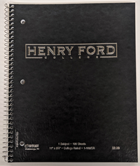 TOP FLIGHT 1 SUBJECT HFC NOTEBOOK