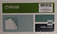 Top Flight Index Cards