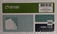 TOP FLIGHT INDEX CARDS